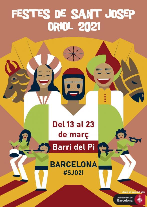 Presentat el cartell de les Festes de Sant Josep Oriol 2021 | La Casa dels  Entremesos